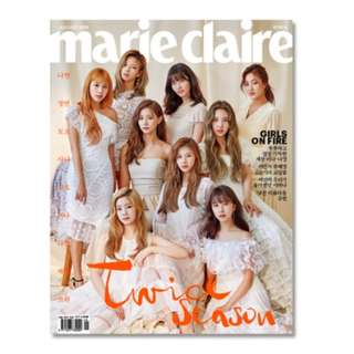 MARIE CLAIRE 2018.08 TWICE