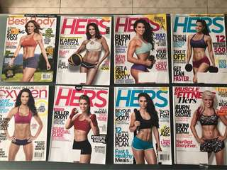 Women's magazine bundle: Oxygen and Muscle & Fitness Hers