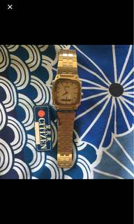 Citizen vintage watch bnew(collection)