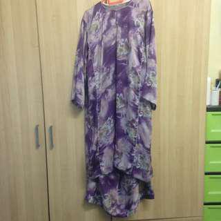 baju kurung plus size xl-xxl