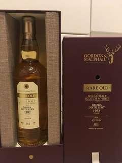 Rare Old 關閉酒廠: Brora 33年 1982/2015