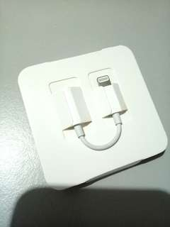 Apple Lightning to Headphone Jack adapter iPhone X iPad