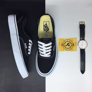 Sepatu vans authentic classic Navy white BNIB ORIGINAL