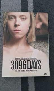 3096 Days DVD