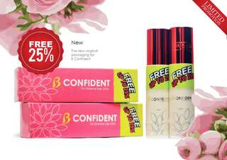 B CONFIDENT Breast Serum - 50ml