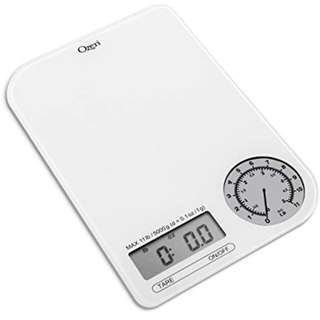 651 Ozeri ZK18-WG Rev Digital Kitchen Scale with Electro-Mechanical Weight Dial