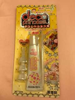 Silicone Glue for Decoden and Nail Art - Deco Princess FROM JAPAN