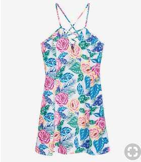 H&M Floral short dress