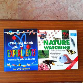 2 for $12: The Big Book of Experiments; Nature Watching