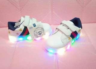 JUL 18 GUCCI KIDS SHOES W/LED LIGHT (DRN)