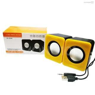 D01A USB 2.0 Plug and Play Portable Digital Multimedia Speaker