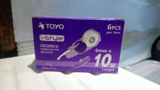 toyo i-style correction tape refillers set
