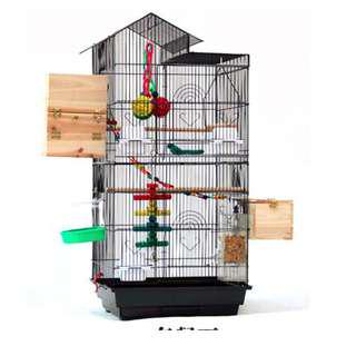 *Sold out!* 100 cm breeding cage - Black