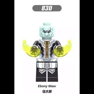 Lego Compatible Ebony Maw