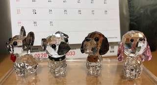 Swarovski 水晶狗系列