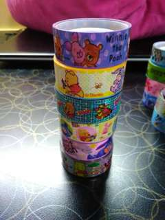 Winnie the pooh and friends washi tape