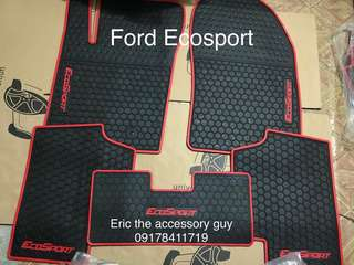 Ford Ecosport Rubber matting set