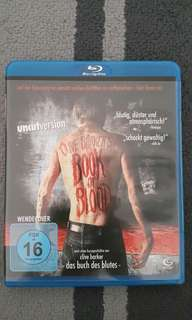 Book of blood (Bluray)