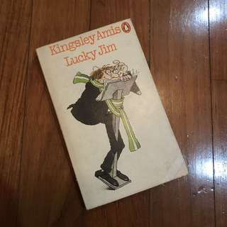 Lucky Jim by Kingsley Amis (Vintage Penguin Edition)