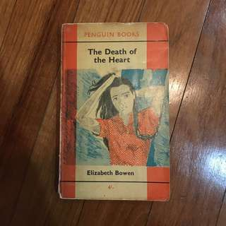 The Death of the Heart by Elizabeth Bowen (Vintage Penguin Edition)