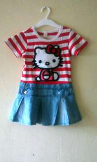 Dress hello kitty