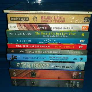 Novel bekas original