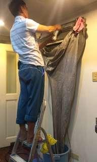 Split Type AC Cleaning