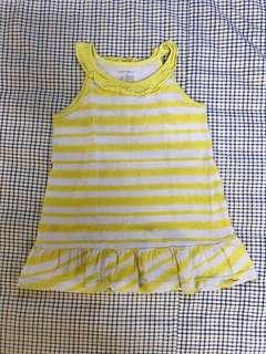 Girly Dress Yellow&Purple
