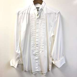 Men Gucci white shirt size 39