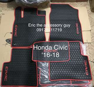 Honda Civic Rubber matting set