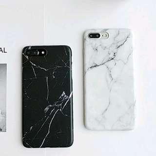 Whitw Marble Case (IP6+)