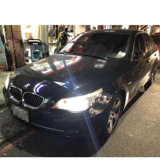 2007年 523I BMW 黑色(FB:桃園阿福_優質中古車)