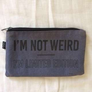 Typo Pencil Case #July70