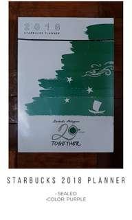 Starbucks 2018 Planner #winllaollao