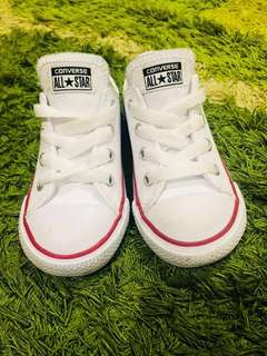Preloved Leather Converse - kid