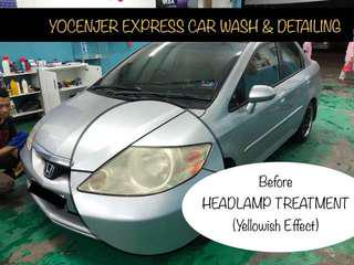 Headlamp Treatment