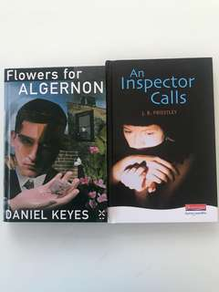 LITERATURE COMBO - Flowers for Algernon + An Inspector Calls