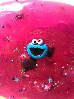 cookie monster's princess party