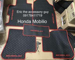 Honda mobilio rubber matting set