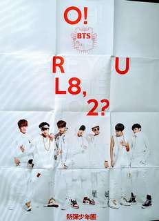 BTS O!RUL8,2?海報