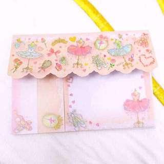 Japan ballet sticky pad