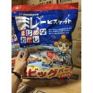🚚 日本野村 美樂 超大包小圓餅