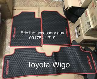 Wigo Rubber matting set