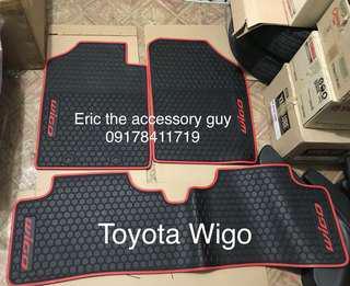 Wigo Rubber matting set