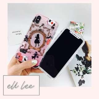 Pink Clear Alice in Wonderland iPhone 7 Plus / 8 Plus Phone Case