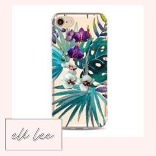 Blue-Green Leaf iPhone 7 Plus / 8 Plus Phone Case