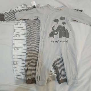 H&M (preloved) Sleepsuits Jumper Jumpsuits