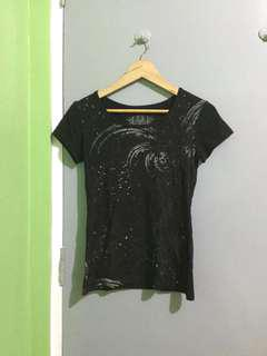 Black t shirt for girls