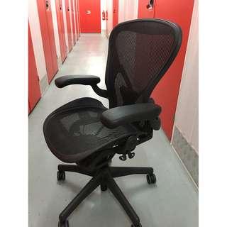 Herman Miller Aeron Ergonomic full mesh chair , Posturefit lumbar