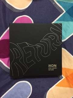 (PRICE REDUCED) Ikon album return black ver